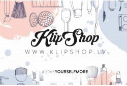 """Internetveikala """"KlipShop.lv"""" dāvanu karte"""