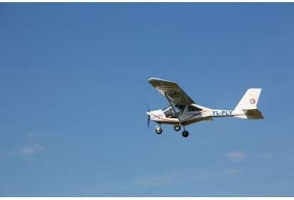 Захватывающий полет в двухместном самолете AEROPRAKT-22