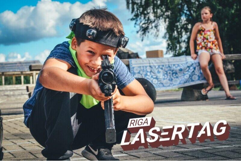 Aizraujoša LazerTag spēle Rīgā