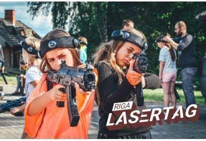 Atvērtais LazerTag pasākums Rīgā