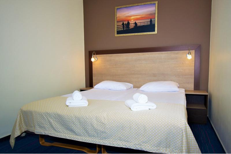 Romantiska atelpa  pie jūras, viesnīcā Alanga