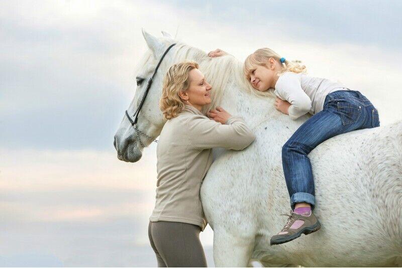 Izjāde ar zirgiem ģimenē Anīkšču apkārtnē