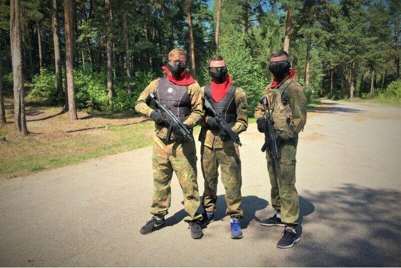 Airsofts iekštelpu vai āra poligonos no GUNSnLASERS Rīgā