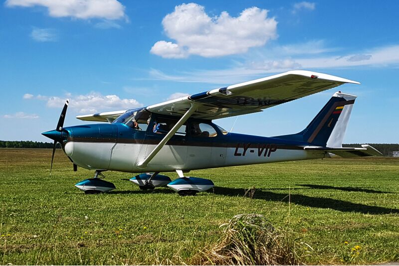 Полет над Национальным парком Аукштайтии