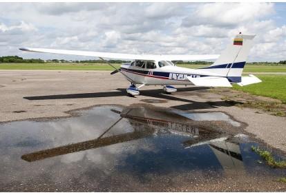 Полет на самолете над Каунасом (для 1-3 человек)
