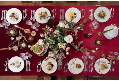 """Degustāciju vakariņas 18 gadsimta noskaņās Rundāles pils kafejnīcā """"Ozollāde"""""""