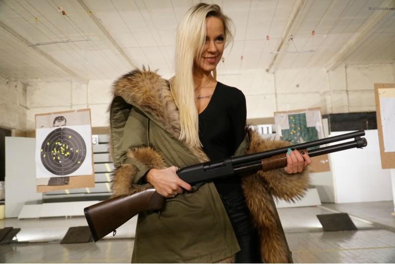 """Šaušana """"Komplekts NR.4"""" šautuvē Trāpītava Rīgā"""