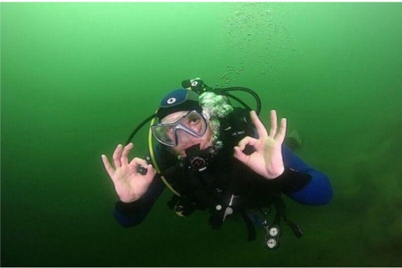"""Курсы подводного плавания с """"Divemen"""" в Вильнюсе"""