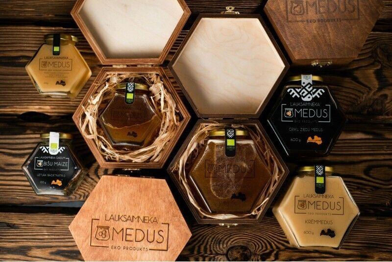 """Dāvanu karte individuālā medus komplekta iegādei no """"Lauksaimnieka gardums"""""""