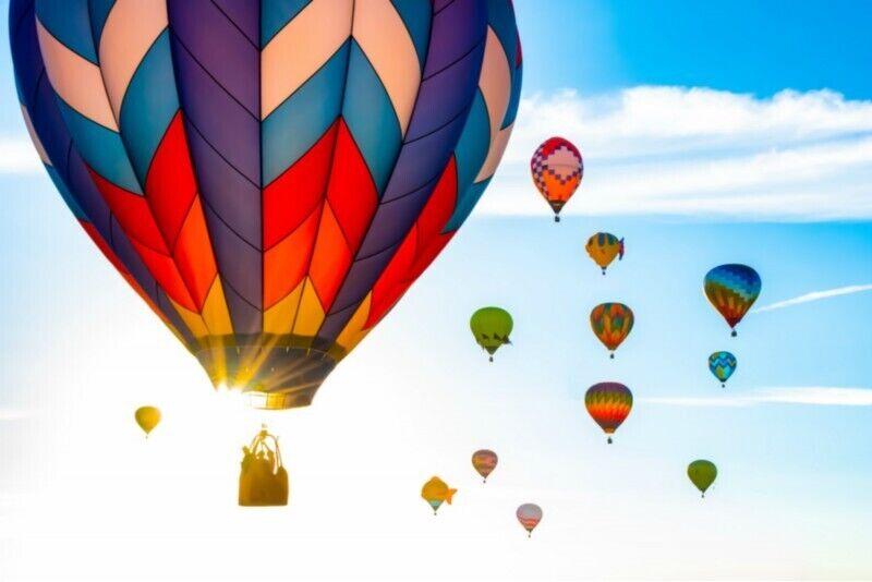 Lidojums ar gaisa balonu ziemā Tallinā, Pārnu vai Tartu
