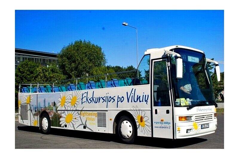 Ekskursija atvērtā autobusā Viļņā (2 personām)