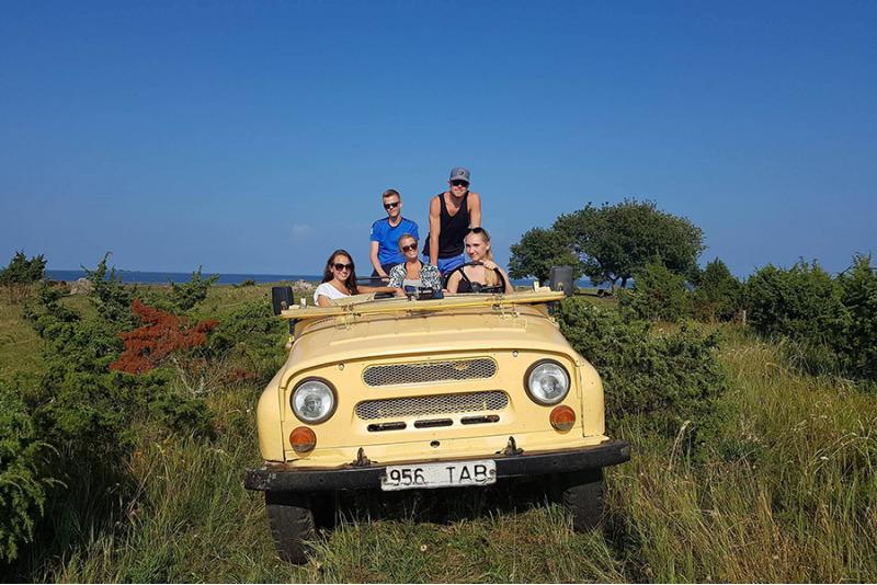 Retro-safari piedzīvojums Sāremā
