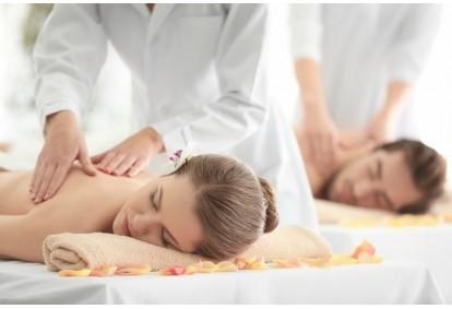 Pāra arommasāža un sejas aromterapija ar Persiku, Ābolu vai Rožu - Ģerāniju aromātu