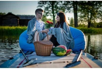 Romantisks piedzīvojums Āraišu ezerā uz SUP dēļa
