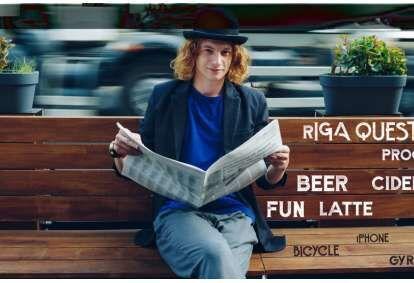 """Pilsētas kvests """"Pa Hipstera pēdām"""" Rīgā"""