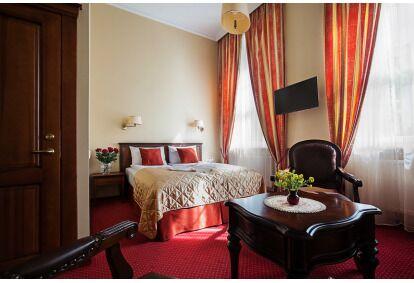 """Romantiškas vakaras dviems viešbutyje """"Conviva"""" Panevėžyje"""