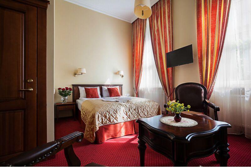 Романтический вечер для двоих в гостинице Conviva в Панявежисе