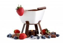 Šokolādes fondī Rīgā