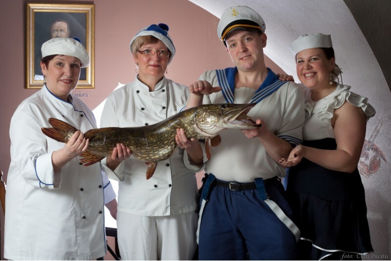 """Zivju un medījumu restorāns """"Taverna"""" apmeklējums"""
