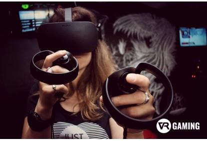 """Izklaide Virtuālās Realitātes studijā """"VR Gaming"""" Rīgā"""
