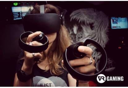"""Развлечения в студии виртуальной реальности """"VR Gaming"""" в Риге"""