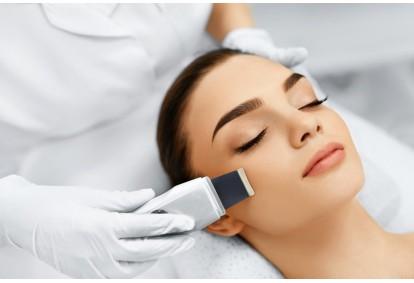 """Sejas ādas tīrīšana ar ultraskaņas palīdzību salonā """"Beauty Empire"""""""