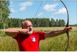 Neierobežota šaušanas apmācība ar dažādu veidu iesācēju lokiem un citiem ieročiem