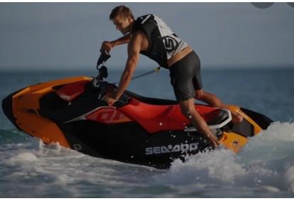 Iepazīšanās izbrauciens ar ūdens motociklu Sea Doo Trix Saulkrastos