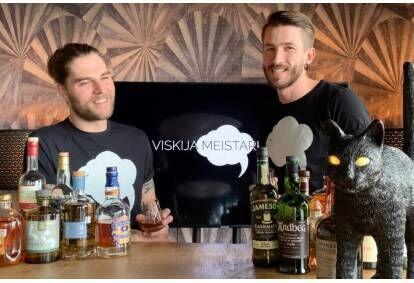 """Мастер-класс по виски в студии """"Mākonis"""" в Риге"""