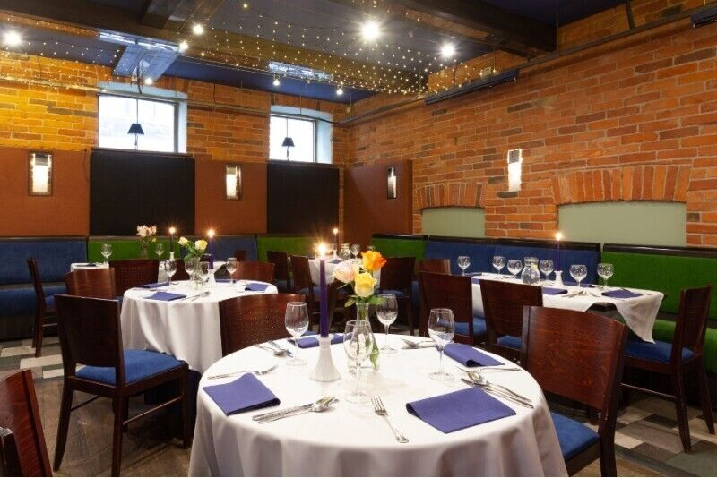 Ужин в ресторане гостиницы Europa