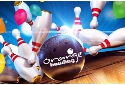 """Увлекательная игра в боулинг и пицца с напитками от """"Orange Bowling"""" в Даугавпилсе"""