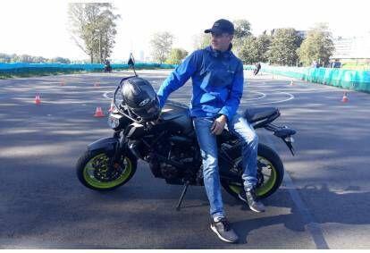 Motobraukšanas izmēģinājuma nodarbība GOMOTO.lv