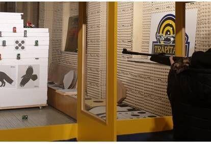 Стрельба  для  детей   «Набор № 5B» в тире «Trāpītava»