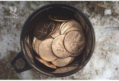"""Individualizētu monētu izgatavošana ar piegādi no """"DUDU Ligzdas"""""""