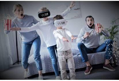 """Virtuālās realitātes istaba """"Ģimenes apmeklējums"""" no """"VR Club"""" Rīgā"""