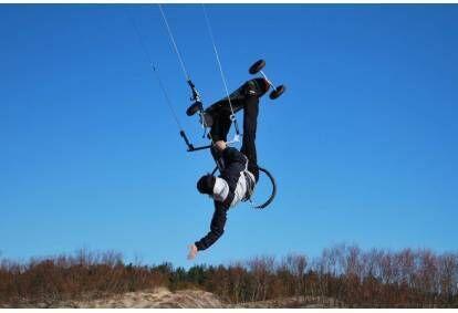 """Кайт - обучение управлению воздушным змеем от """"KiteSchool"""" в Риге"""