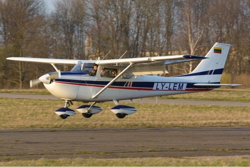 Apmācības - apskates lidojums ar lidmašīnu virs Kauņas
