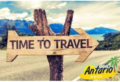 Ceļojumu dāvanu karte no tūrisma aģentūras ANTARIO
