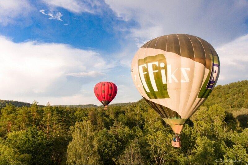 """Lidojums ar gaisa balonu Siguldā no """"GaisaBaloni.lv"""" ar transfēru no Rīgas"""