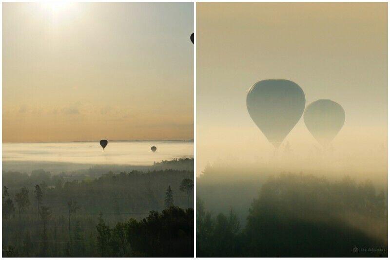 """Lidojums ar gaisa balonu Tukumā no """"GaisaBaloni.lv"""" ar transfēru no Rīgas"""