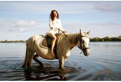 Aizraujoša izjāde ar zirgu Katlkalnā