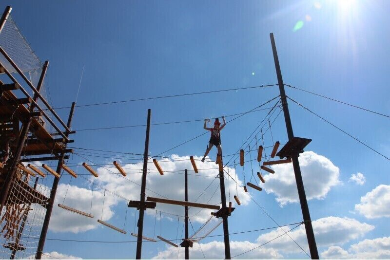 Визит башни приключений для двоих в областье Огре