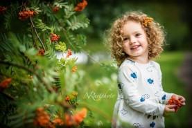 Bērnu fotosesija