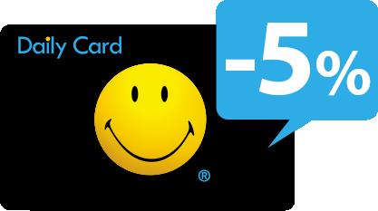 Daily Card nuolaida